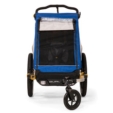 Front View Mesh Window Burley D'Lite Single Bike Trailer Stroller