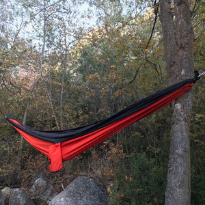 WolfSling Two Person (2P) Lightweight Nylon Hammock