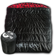 TwoWolves 0 Degree 2-Person Premium Comfort Sleeping Bag Black/Red