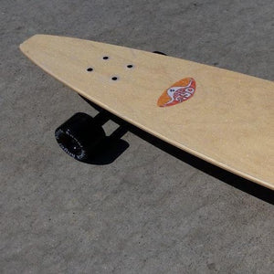 with clear grip tape
