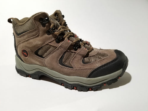 Women's Mid-Top Brushed Leather Hiking Boot