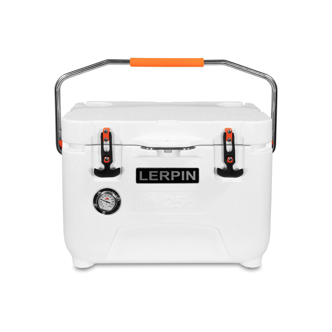 Wolf Traders 25-Quart Roto-Molded Cooler White