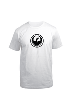 Dragon Alliance Men's Icon Tee Staple Line SS T-shirt white
