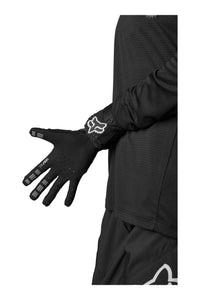 Fox Racing Womans Defend MTB Mountain Bike Gloves Black Palm Bottom