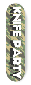 Camouflage Stick Maple Skateboard Deck