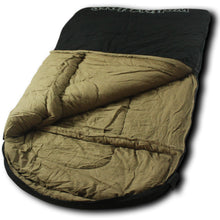 TwoWolves 0 Degree 2-Person Premium Canvas Sleeping Bag