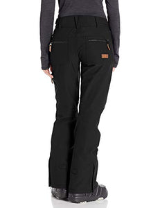 Roxy Cabin Women's Snow Pant True black back view