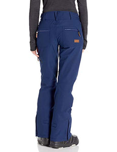 Roxy Cabin Women's Snow Pant Medieval Blue Back view