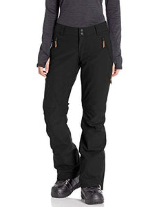 Roxy Cabin Women's Snow Pant True black modeled front view