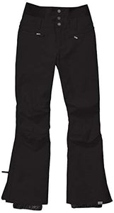 Roxy Women's Rising High Snow Pant True black Front view