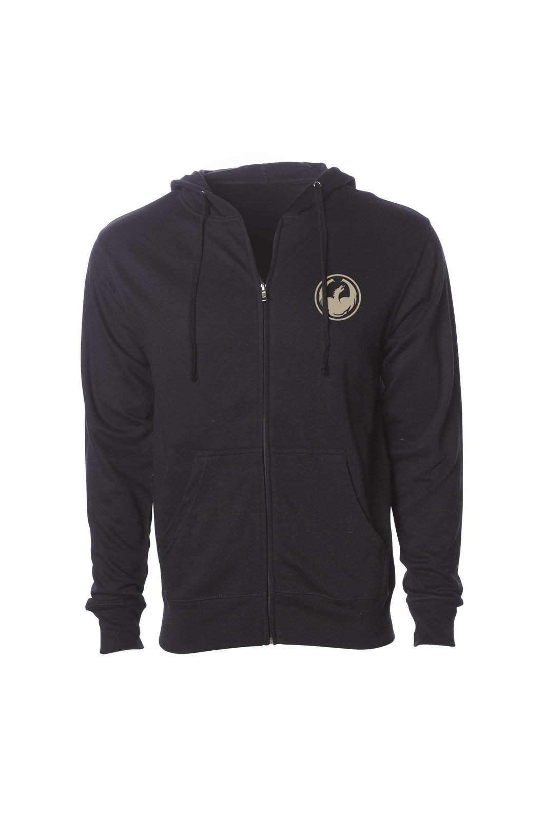 BAND TOGETHER FULL ZIP HOODIE F16 Black
