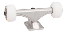145 mm silver bullet trucks 53mm oj from concentrate wheels completer assembly front angle 1