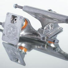 Independent Stage 11 Hollow Silver Standard Skateboard Trucks Pair