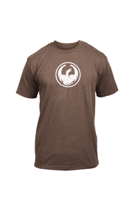 Dragon Alliance Men's Icon Tee 2 SS T-Shirt Brown Heather