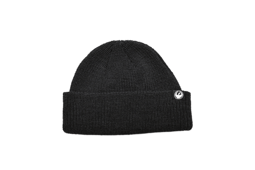 Dragon Alliance Cool Beans Beenie Black Knit Construction