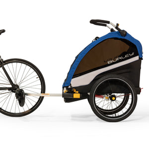 Attached to Bike Rear Axle Burley Delight Bike Trailer