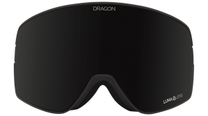 Dragon Alliance NFX2 Flat Lens Goggle Jossi Wells Signature Midnight + Pink Ion Goggles Front