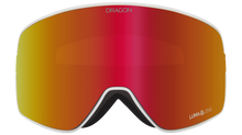 Dragon Alliance NFX2 Flat Lens Goggle The Calm Red Ion Front