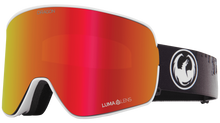 Dragon Alliance NFX2 Flat Lens Goggle The Calm Red Ion Main