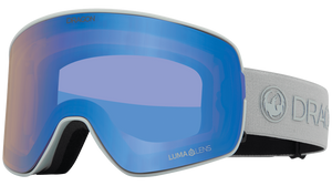 Dragon Alliance NFX2 Flat Lens Goggle Salt Blue Ion Main