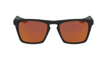 Dragon Drac LL Ion Matte Black LL Orange Ion Sunglasses Front Lens View