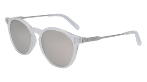 DRAGON MILKY CRYSTAL/LL SILVER ION LUMALENS SUNGLASSES SIDE PROFILE