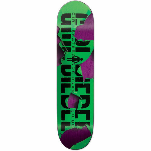 BIEBEL TEAR IT UP 8 INCH SKATEBOARD DECK