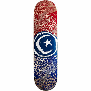 STAR & MOON WAVES 8.25 INCH SKATEBOARD DECK