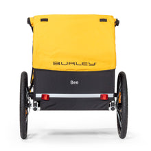 Rear View Burley Bee Bike Trailer 2 Rear Reflectors