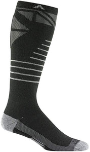 Wigwam Snow Super G Over Calf Ski Snowboard Sock Black