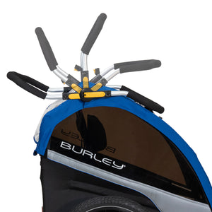 Burley D'Lite Single Stroller Handlebar has many different positions