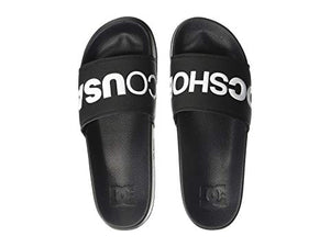 SLIDE MENS SANDAL BLACK/WHITE