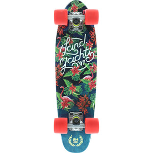 Mini Dinghy 26 Floral Green Longboard Complete