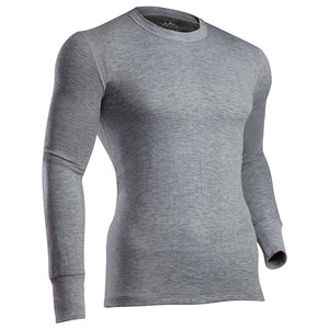 Coldpruf Men's Platinum 2 Base Layer Top Grey