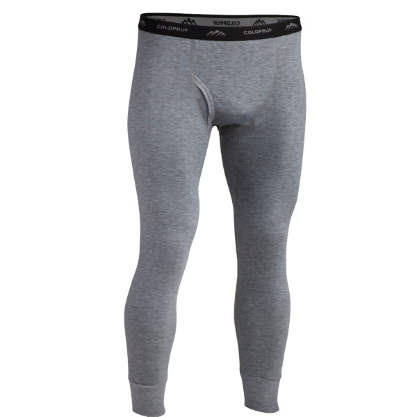 Coldpruf Men's Platinum 2 Base Layer Bottom Grey
