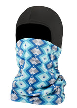 Function Double Layer Ballerclava Geodesic Balaclava Face Mask Blue Shades