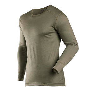 Coldpruf Men's Classic Merino Wool Base Layer Top Commando