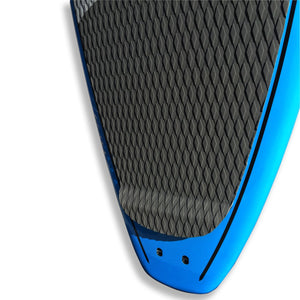 "Kanghua 10'6"" Carbon Fiber Reinforced Premium SUP Paddleboard with Fins & Leash, Ocean Blue"