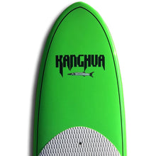 "Kanghua 10'6"" Carbon Fiber Reinforced Premium SUP Paddleboard with Fins & Leash, Lime Green"