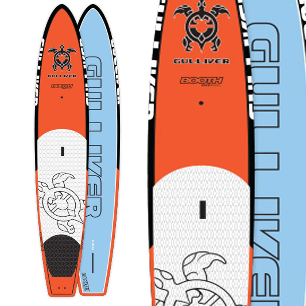 Gulliver 14' Evo II Carbon and Innegra Fitness and Racing SUP Paddleboard with Fins and Bag