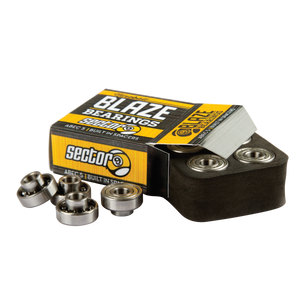 Blaze ABEC5 Bearings with Built in Spacers