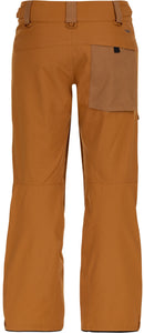 O'Neill mens utility pant 10k waterproof breathable slim fit glazed ginger back