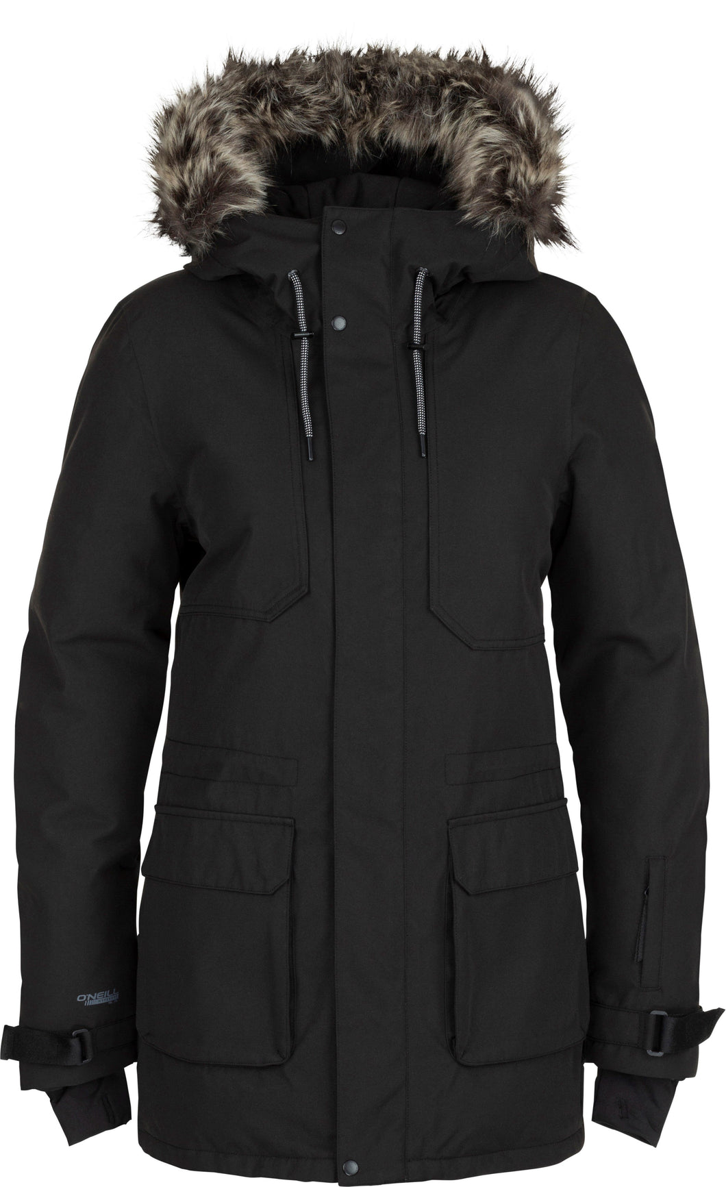 O'Neill Ladies' Ski and Snowboard XPLR Parka Front