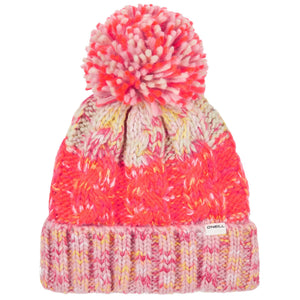 O'Neill Pop-Melange Beanie Red Front