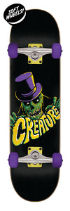 Crypt Keeper Mini  Sk8 Completes 7.75in x 30.00in Skateboard Complete