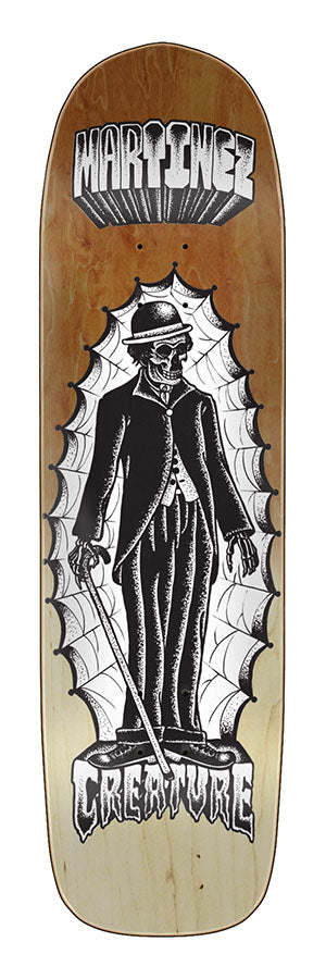 Creature Martinez The Immigrant 8.99in x 32.64in Skateboard Deck Bottom View