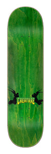 Creature Rebirth LG Everslick 8.375in x 32.15in Skateboard Deck Top View