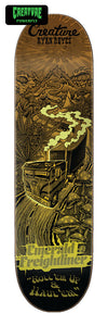 Creature Reyes Roadside Terror Powerply 8.0in x 31.8in Skateboard Deck Bottom View