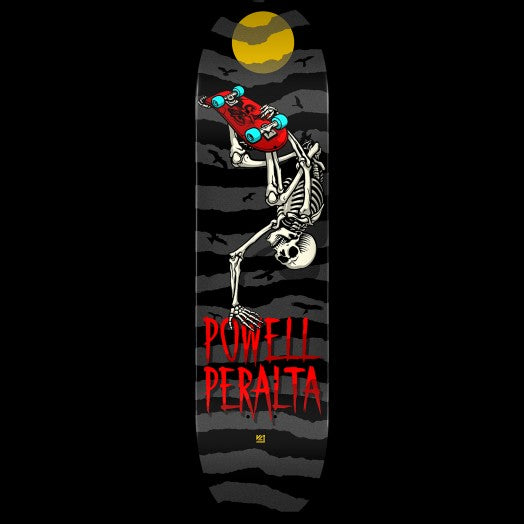 Handplant Skelly Skateboard Deck Charcoal 8x31.45