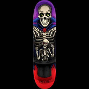 Charlie Blair Pro Magician Skateboard Deck Red/Purple shape 24